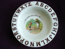 Childs ABC Dish Antique made in England