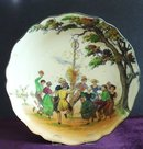 Antique Doulton Bowl  MAY DAY