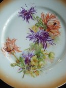 Lovely Vintage  Floral Plate made in Austria