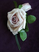 Pink Silk Velvet  Rose  for Dress or Millinary