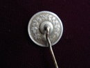 Silver Coin Stickpin Royal Edward  VII