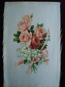 Cigarette Tobacco Silk Roses and Ribbons