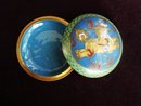 Trinket Cloisonne Box