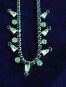 Rhinestone Necklace by Allain