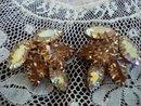 Iridescent Rhinestone Earrings