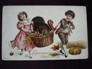 Thanksgiving Greetings Postcard
