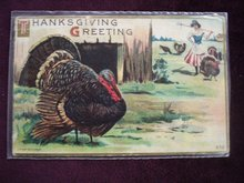 Fantastic Antique Postcard Thanksgiving