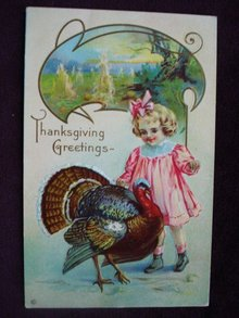 Postcard Thanksgiving Greetings