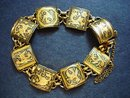 Antique Damascene Bracelet