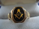 Masonic Ring 10k gold