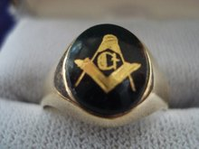 Gold Vintage Signet Ring