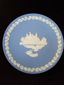 1973 Christmas Plate by Wedgwood
