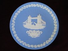 1975 Christmas Plate by Wedgwood