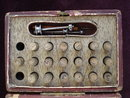 Antique Watchmaker's Tool Boxed by Bohrer