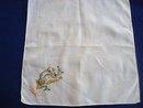 Spectacular Vintage Hanky Hand  Embroidery Koala Bear  Australia