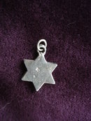 Sterling Silver Charm Star of David