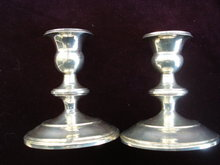 E   xquisite Sterling Candle Holders by Roden