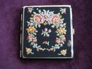 Antique Cigarette Case Petit Point Top