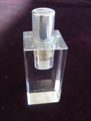 Deco Cigarette Lighter Clear Acrylic