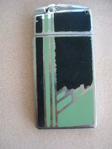 Ronson Cigarette Lighter and Case