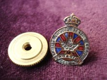 British Empire Service Legion Lapel Pin