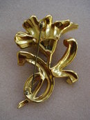 Antique Brooch Figural