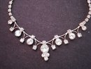 Necklace Clear Crystal Rhinestone
