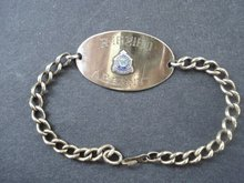 Great Sterling ID Bracelet Gold Filled