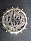Sterling Brooch Maggie