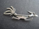 Silver Brooch Road Runner