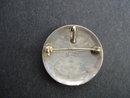 Exquisite Sterling Round Brooch/Pendant