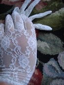 Vintage Lace Gloves