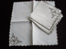 Madeira Embroidered Napkins