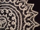 Victorian Tape Lace Round Centrepiece