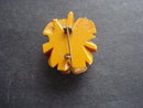 Bakelite Butterscotch Rose