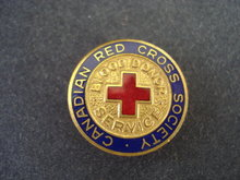 Canadian Red Cross Society Lapel Enamel Pin