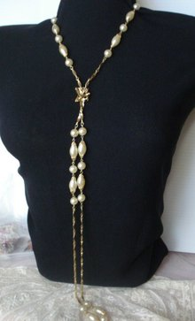 Flapper Style Necklace