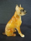Antique Dog Figurine
