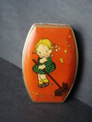 Riley's Toffee Tin Little Girl and the Bird