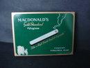 Cigarette Tin Boc Macdonald's