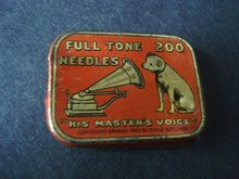 Gramophone Needle Box