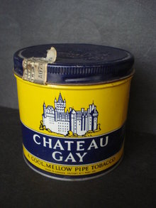 Pipe Tobacco Tin - Chateau Gay