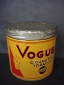 Cigarette Tobacco Tin - Vogue Mild