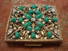 Jewelled Powder Compact