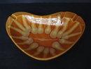 Impressive Hull Deco Ashtray Pumpkin Orange Color