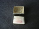 Silver PillBox Ivory Lid