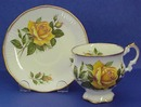 Beautiful English Elizabethan Cup & Saucer