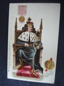 Tuck Postcard Kings and Queens of England