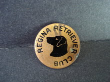 Badge Retriever Regina Club Dog Badge