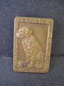 Rare Retriever Dog Club North Dakota Badge Pin   Embossed